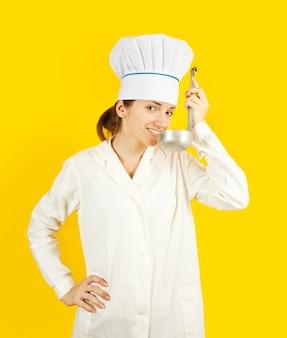 Culinária feminina de concha