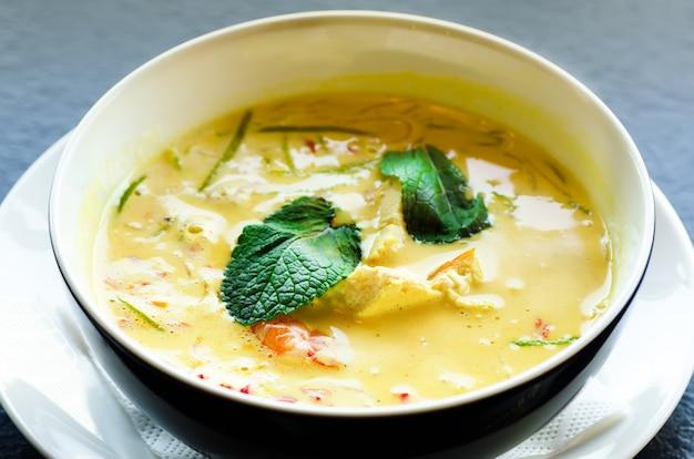 Culinária nacional tradicional asiática, receita. espaço da cópia