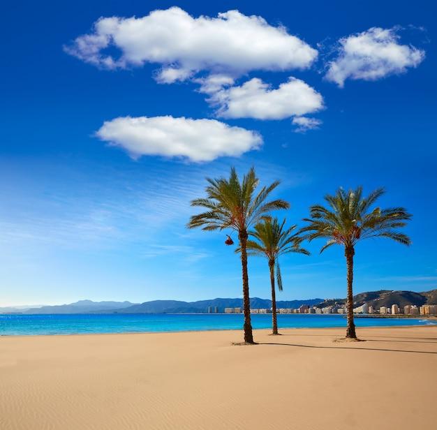 Cullera playa los olivos praia valência na espanha