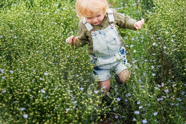 Cultive o conceito sazonal do crescimento da natureza do jardim