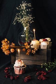 Cupcake ainda vida