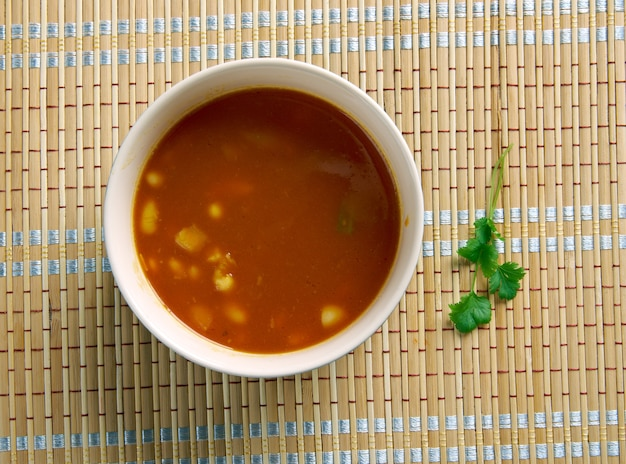 Curry de feijão branco tingalavrya bendi