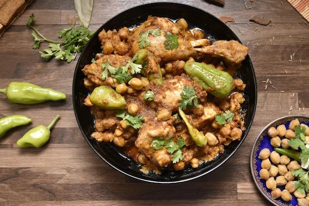 Curry de galinha