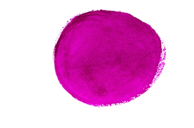 Curso de círculo abstrato rosa.