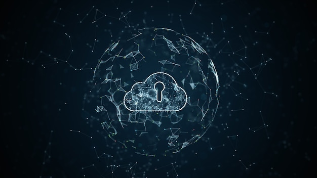 Cyber security digital data network tecnologia internet e big data