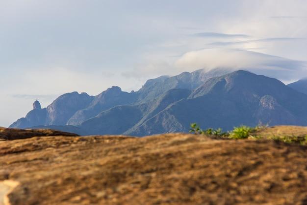 Da trilha da pedra da tartaruga em teresópolis