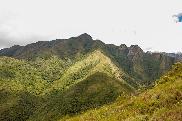 Da trilha fina de montanha no brasil