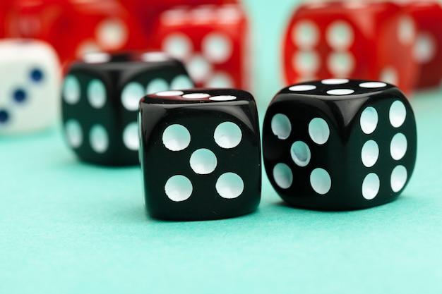 Dados de jogos. conceito de jogo.