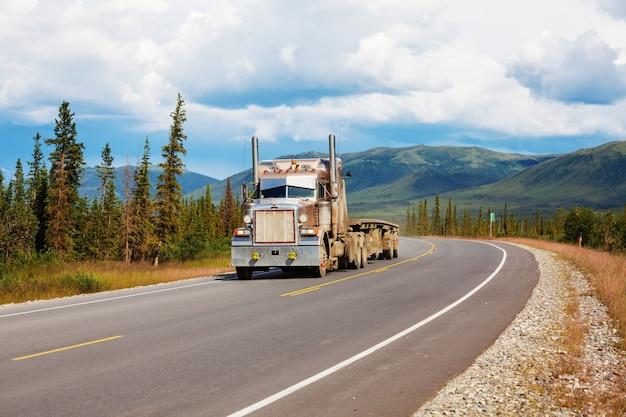 Dalton highway no alasca