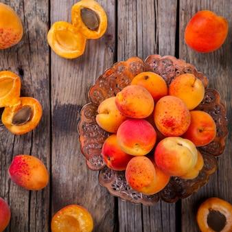 Damascos, frutas verão