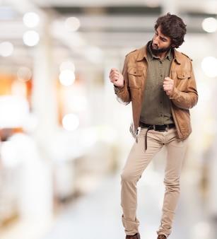 Dança do homem Foto gratuita