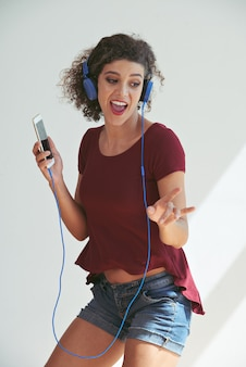 Dançando ao som da música