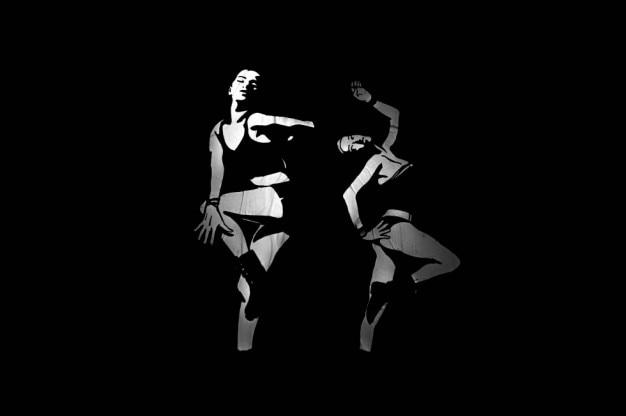 Dançando na parede