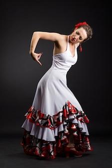 Dançarina de flamenco espanhol