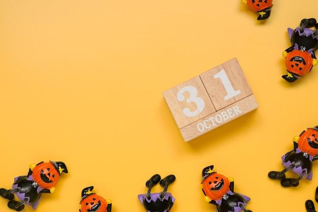 Data do calendário de 31 de outubro