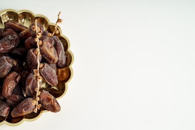 Datas frutas closeup