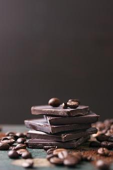 De chocolate delicioso café