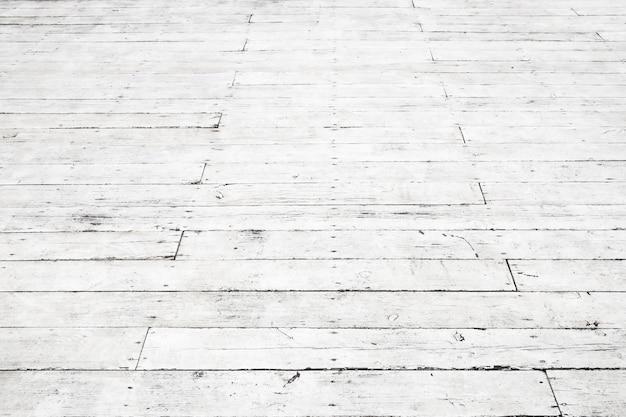 De madeira branca. textura de piso antigo. visão de perspectiva