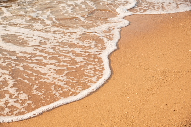 De praia.