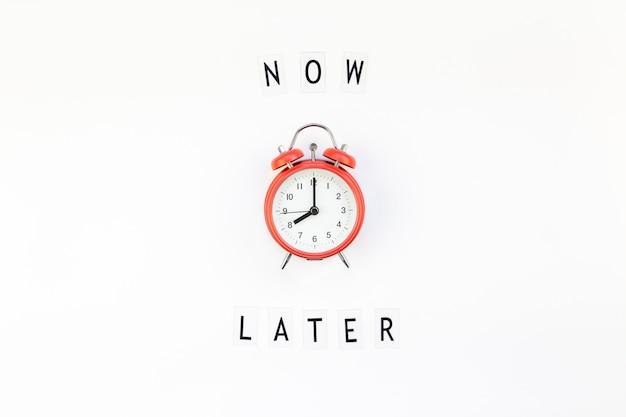 De procrastinação e gerenciamento de tempo