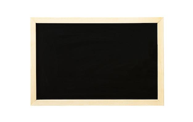 De volta à escola e ao conceito de educação um quadro negro escolar isolado em um fundo branco
