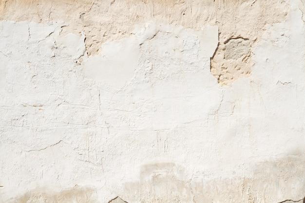 Decadente parede de gesso