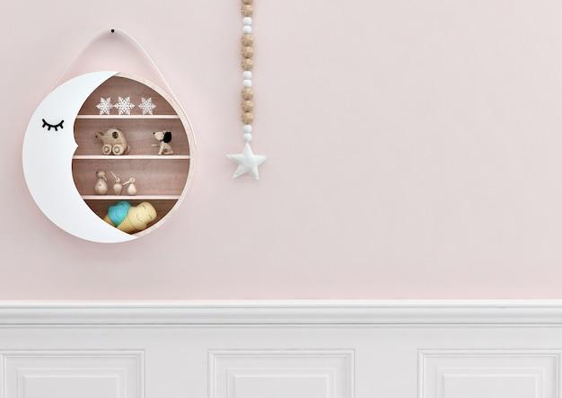 Decalques em parede para quarto de crianças