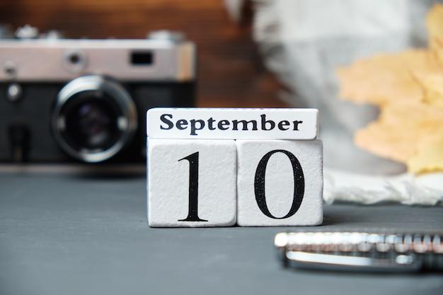 Décimo dia do calendário do mês de outono, setembro