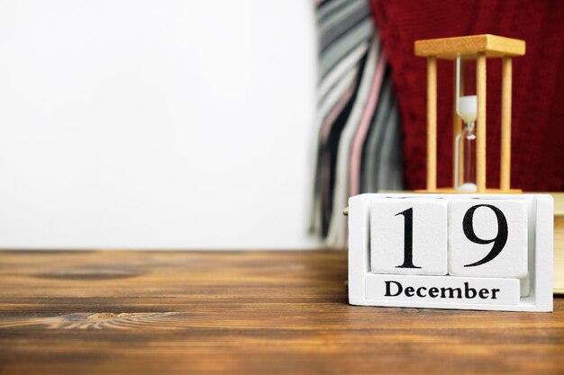 Décimo nono dia do mês de inverno dezembro