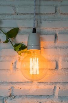 Decoração brilhante da lâmpada clara brilhante