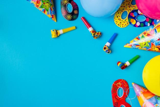 Decoração brilhante para um aniversário, festa, festival ou carnaval.