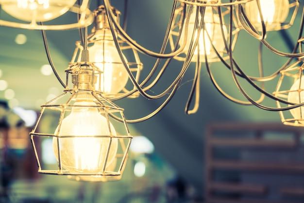 Decoração bulbo decorativo brilho clássico