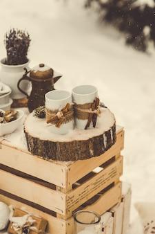 Decoração de inverno