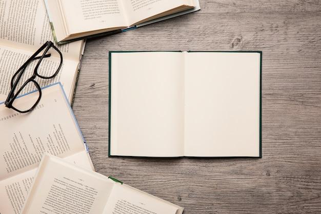 Decoração de livros