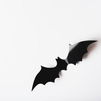 Decoração de morcego closeup para o halloween