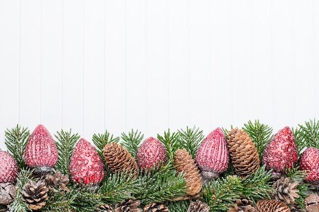 Decoração de natal. cartão de natal. símbolo de natal.