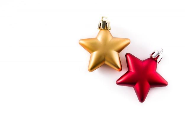 Decoração de natal estrela isolada