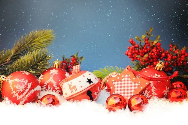 Decoração de natal, férias em família