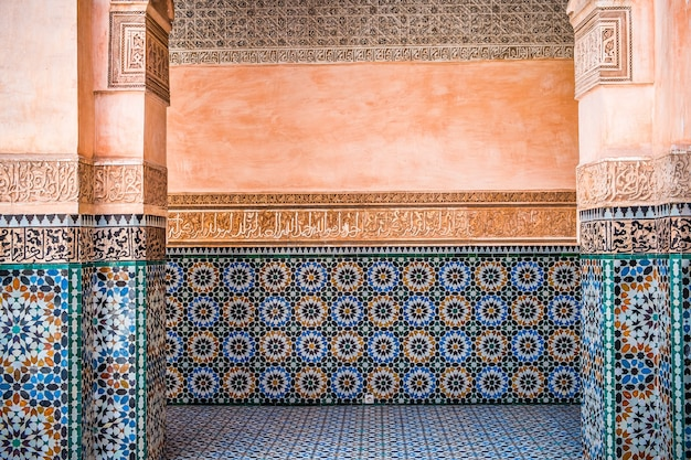 Decoração de parede marroquina
