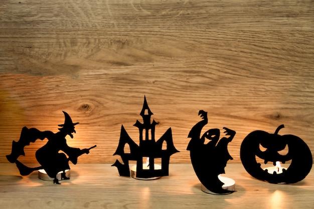 Decoração do feriado do dia das bruxas