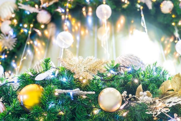 Decoração do natal com backlights