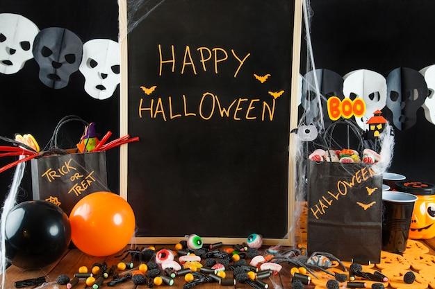 Decoração do partido de halloween