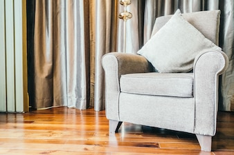Decoração do sofá
