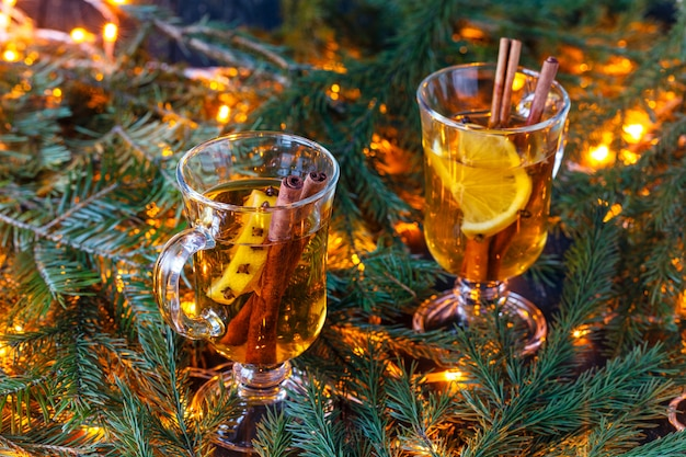 Decoração e iluminação de natal