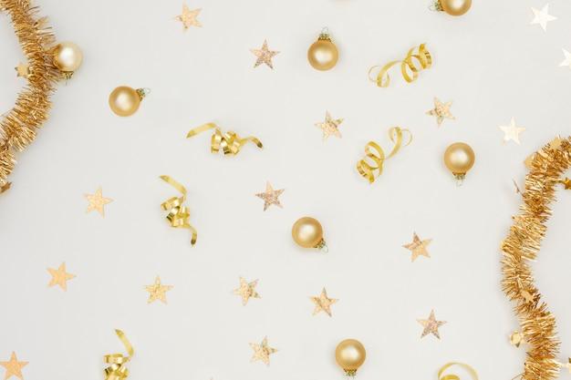 Decoração festiva de festa de ano novo