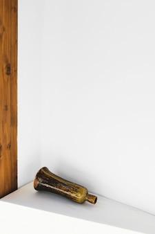 Decoração minimalista em madeira abstrata