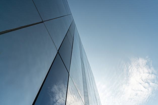 Decoração moderna da parede do espelho do centro de negócios