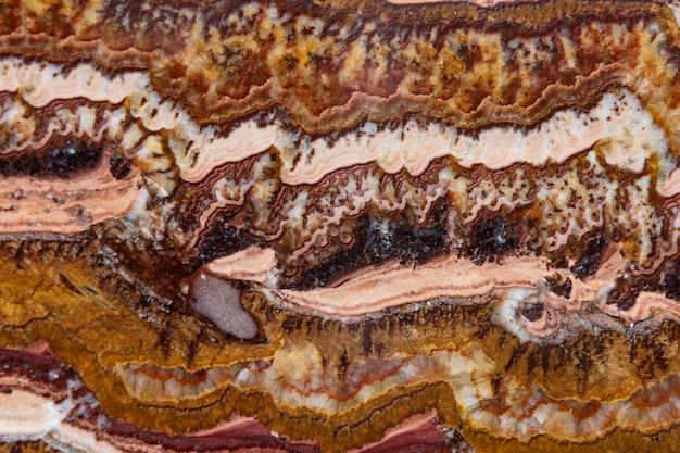 Decoração natural natural de ágata mineral