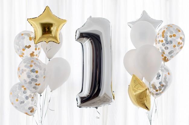 Decoração para 1 anos de aniversário, aniversário