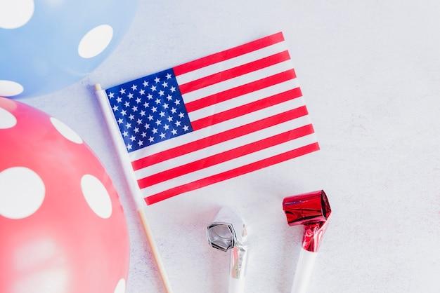 Decoração para o dia da independência